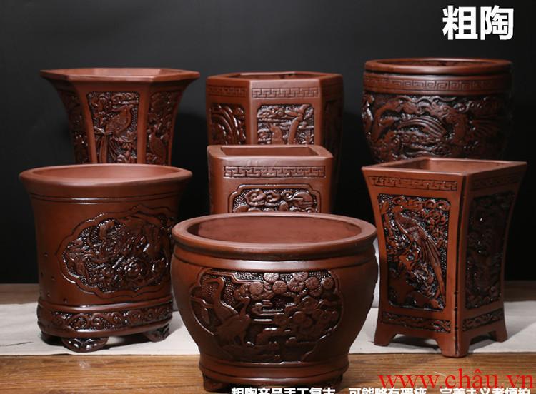 Chậu Gốm bonsai Trung Quốc